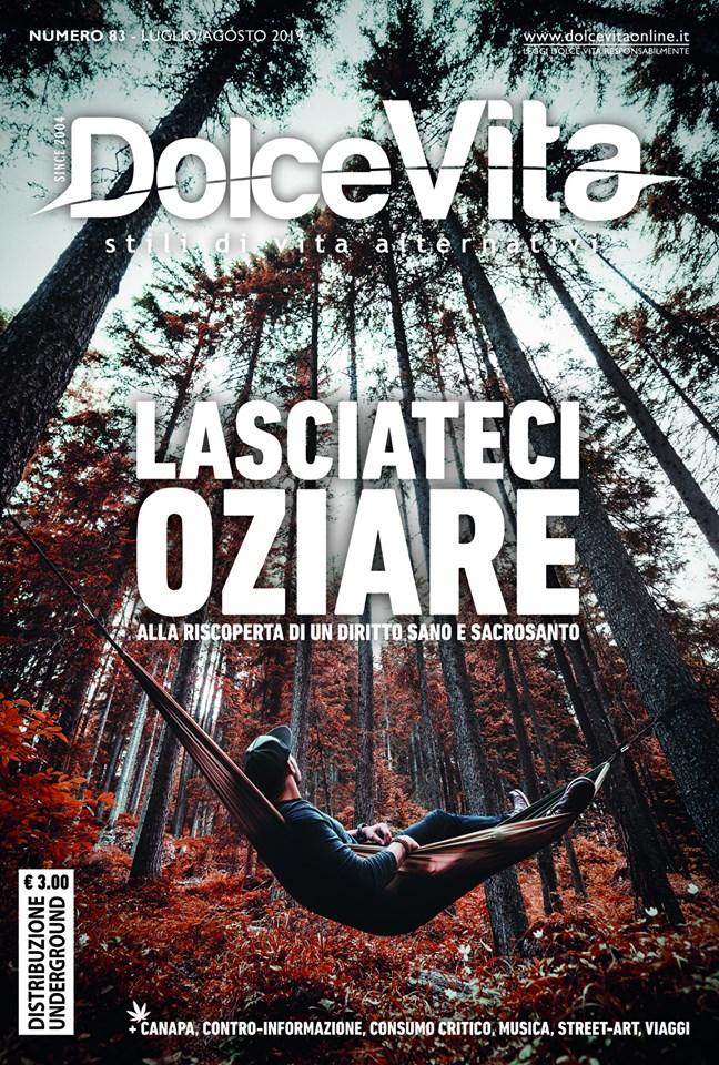 DolceVita stili di vita alternativi - Copertina numero 83 Agosto 2019