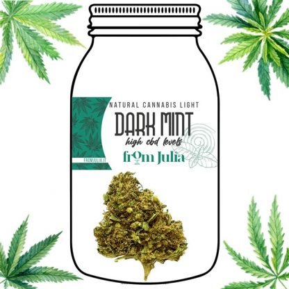Dark Mint From Julia cannabis light erba legale olio cbd